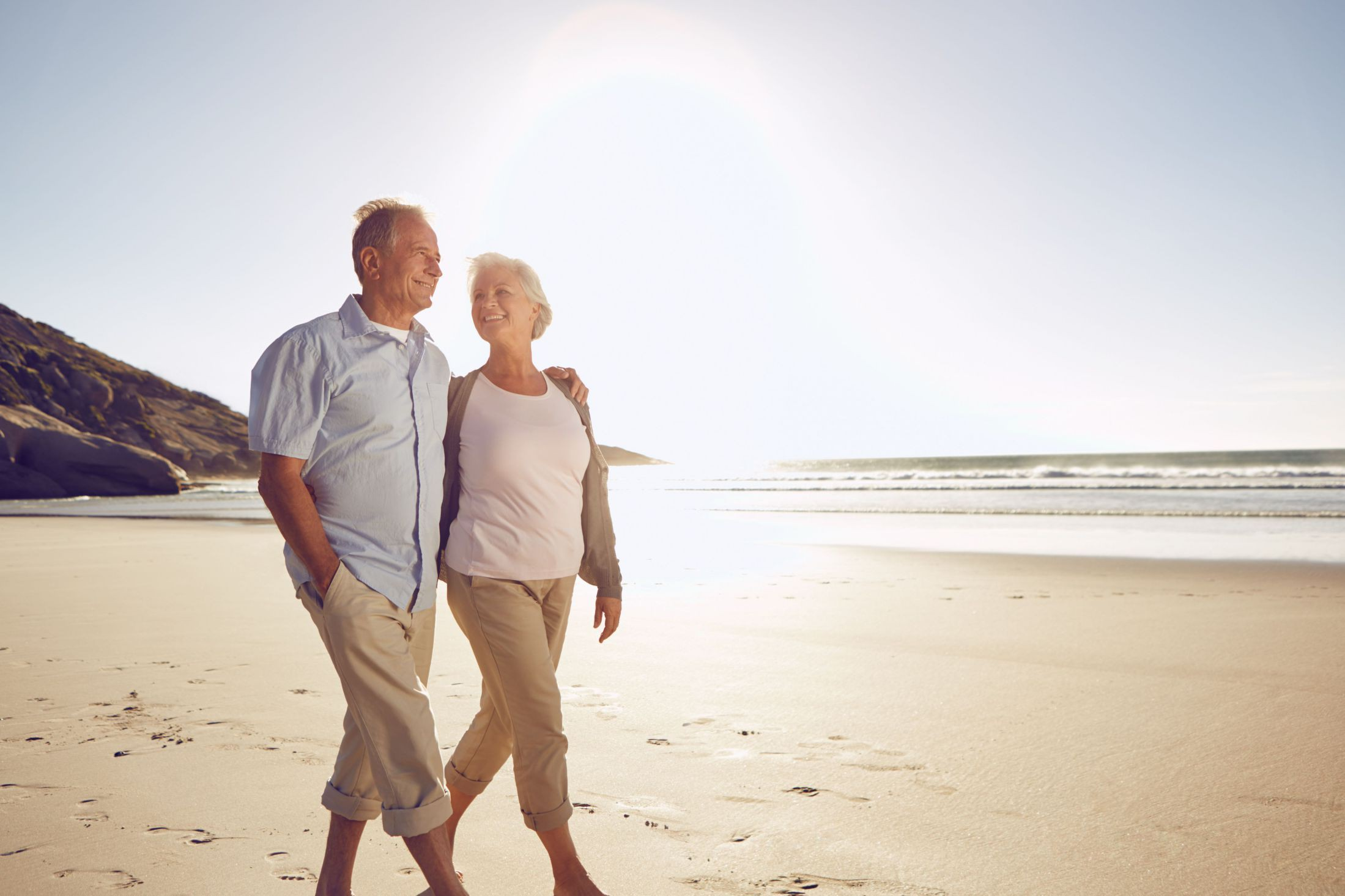 older couple ageing spinal health